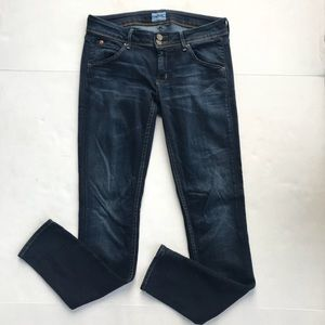 Hudson Jeans Collin Flap Skinny 28 Denim